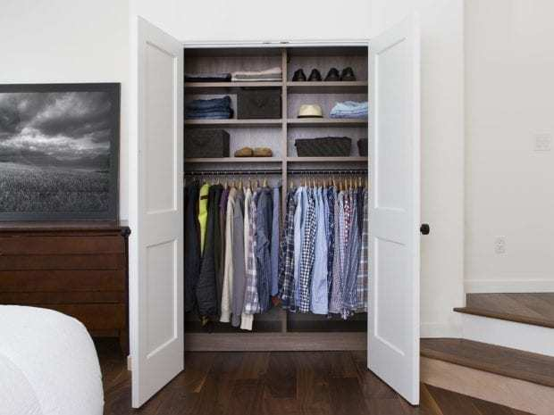 California Closets - Bedroom Reach-In Custom Closet