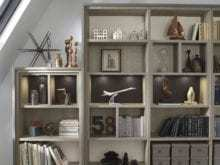California Closets - Home Library Custom Storage Solutions