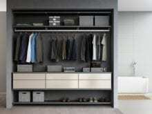 California Closets - Reach-In Custom Closet