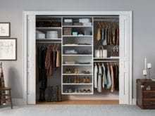 California Closets - Classic Reach-In Custom Closet