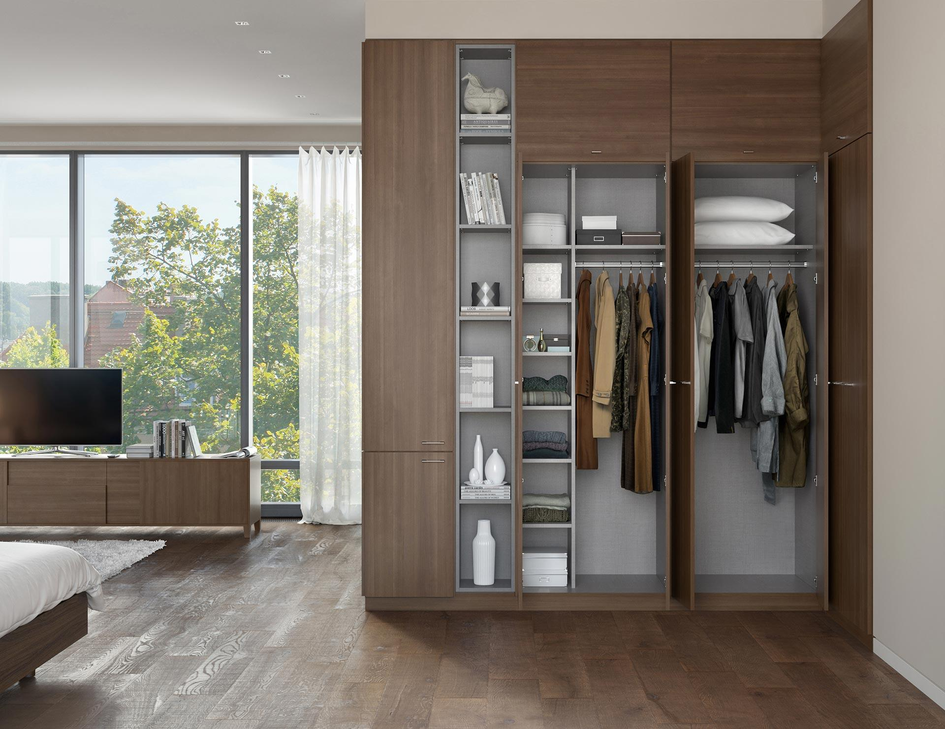 Wardrobe Closets | Custom Wardrobe Closet Systems for Your ...