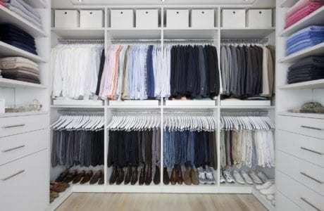 California Closets -Classic Finishes