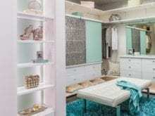 California Closets - Dressing Room Custom Storage Solution