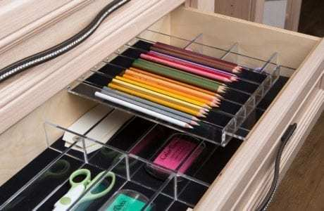 California Closets - Office Drawer Inserts