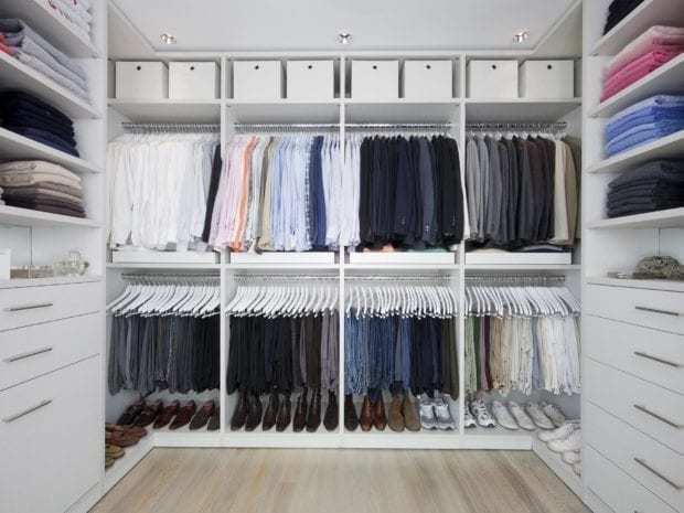 California Closets - Classic Walk-In Custom Closet
