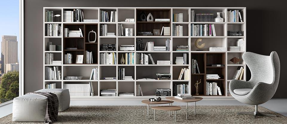 Home Library Bookcases Amp Shelves Solutions California