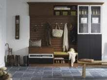 California Closets - Entryway Custom Storage Solutions