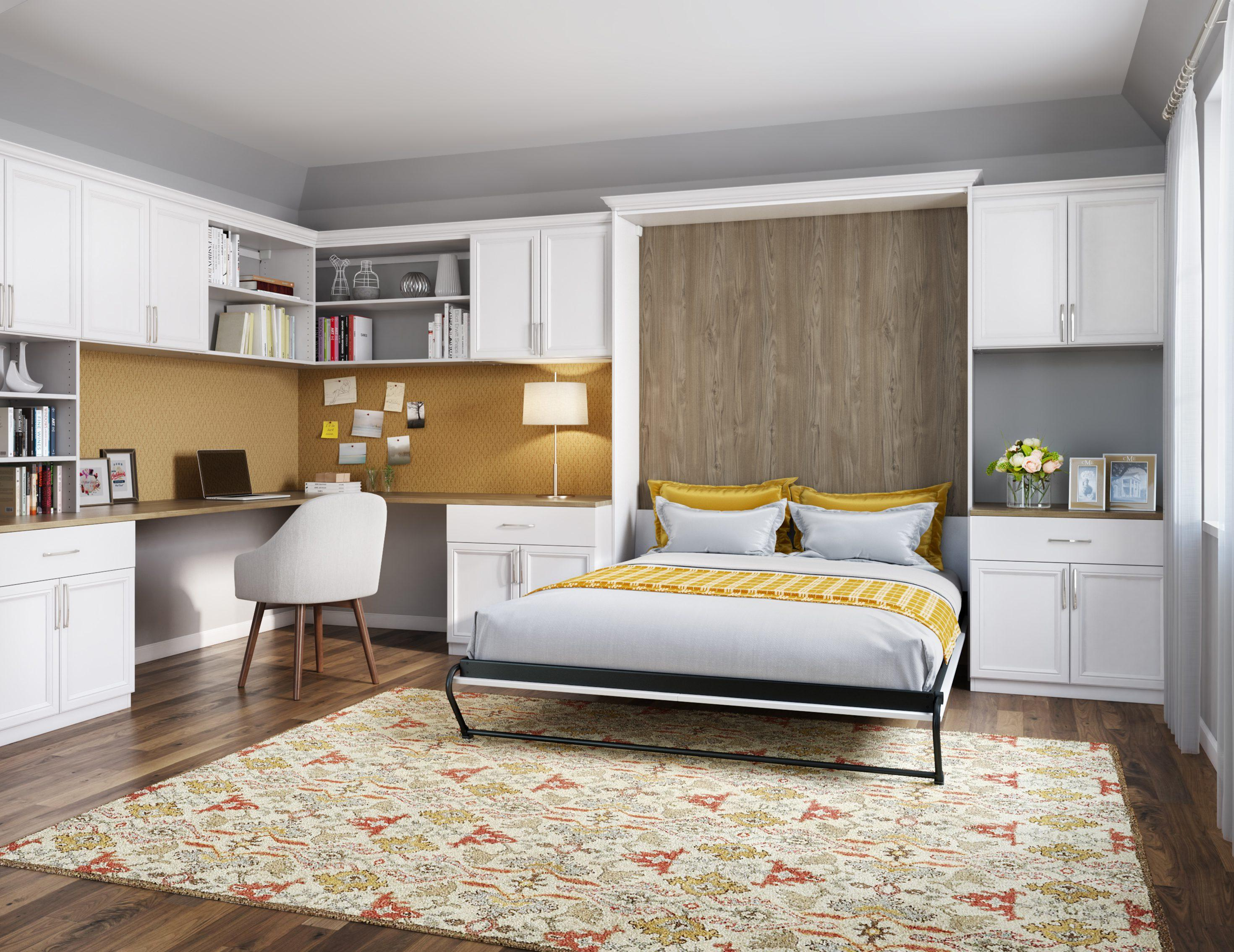 Wall beds california closets campbell convertible office amipublicfo Choice Image