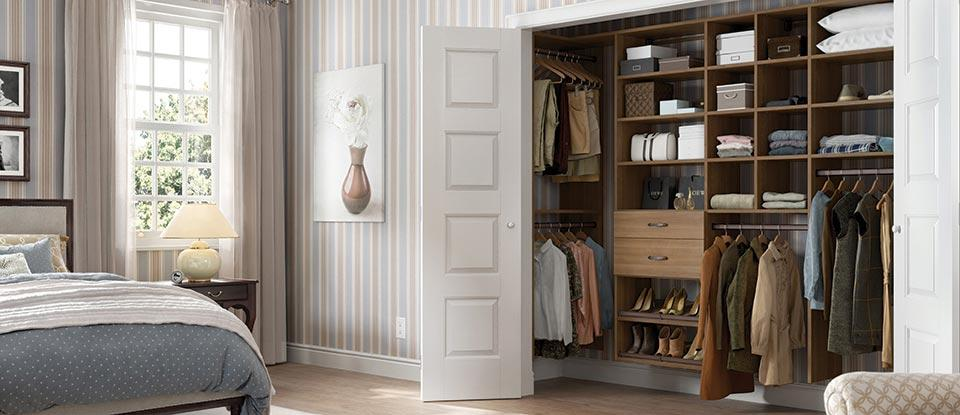Reach In Closet Organization Ideas Part - 19: Reach-In Closets