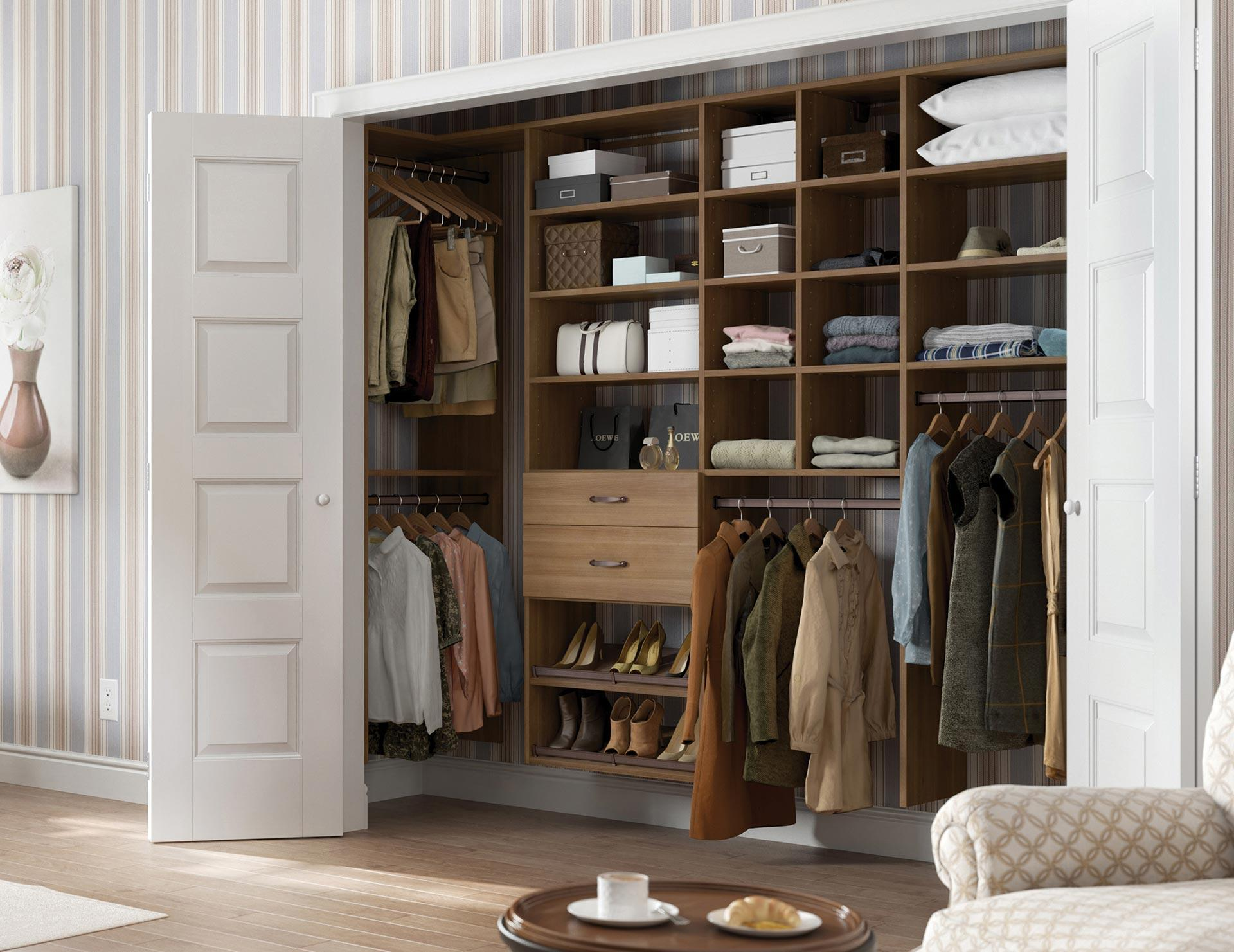 California Closets Reach In Custom Closet
