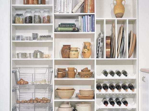 California Closets - Custom Pantry Storage Solutions
