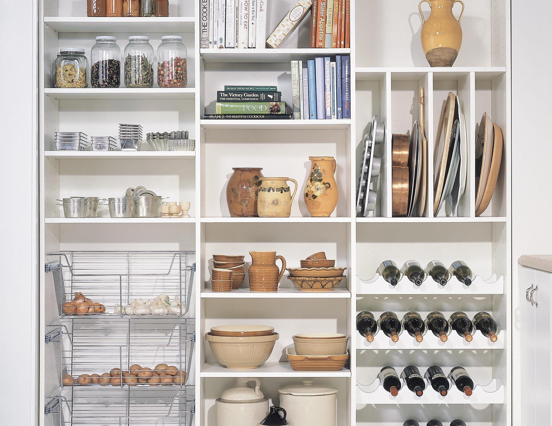 California Closets Custom Pantry Storage Solutions
