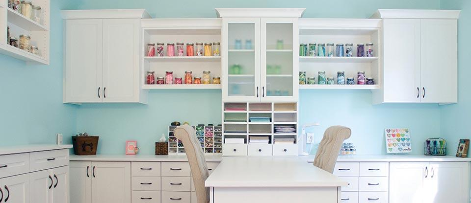 Craft Room Storage Ideas Craft Room Organization by California Closets