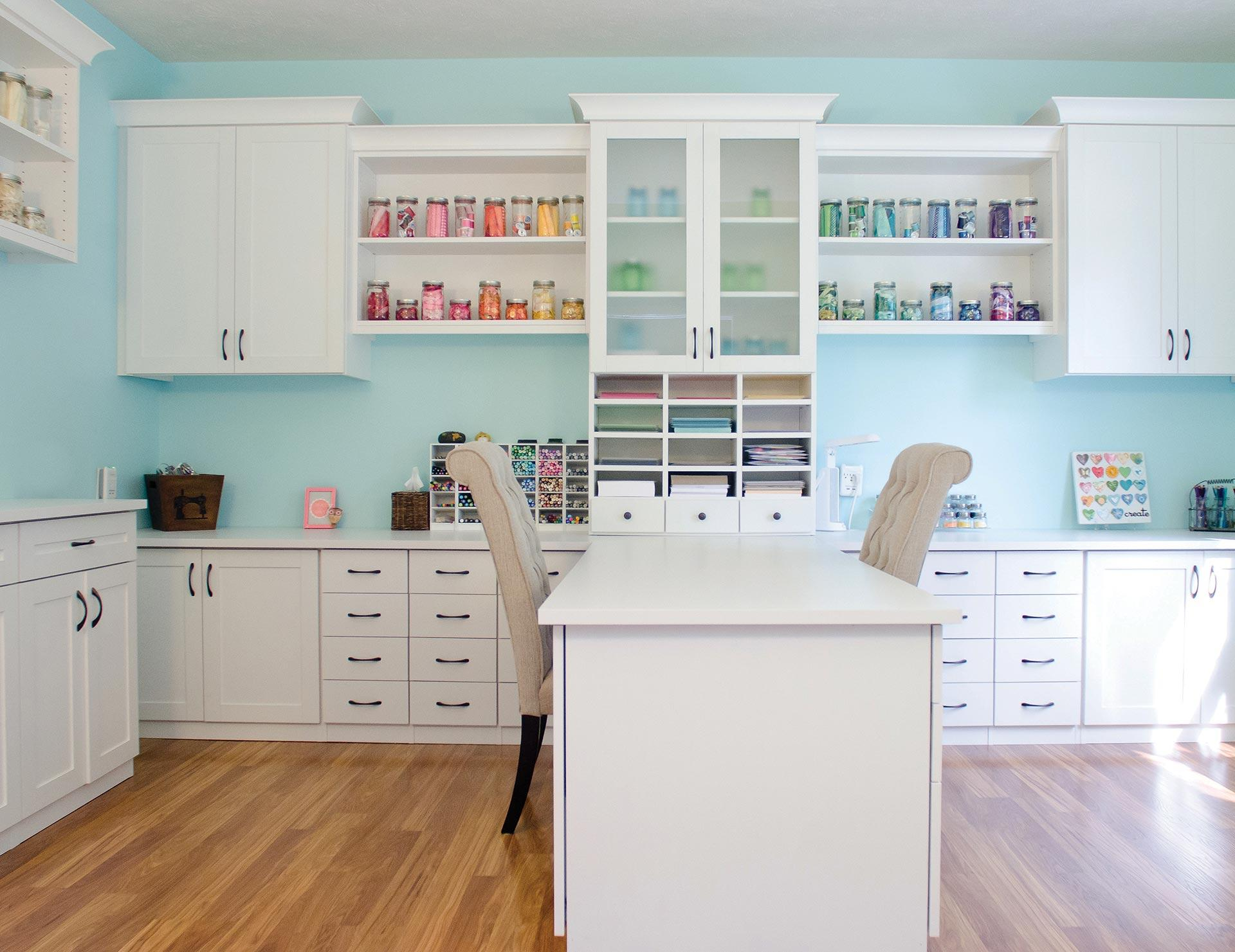Storage For Craft Room: Craft Room Storage Ideas & Craft Room Organization By