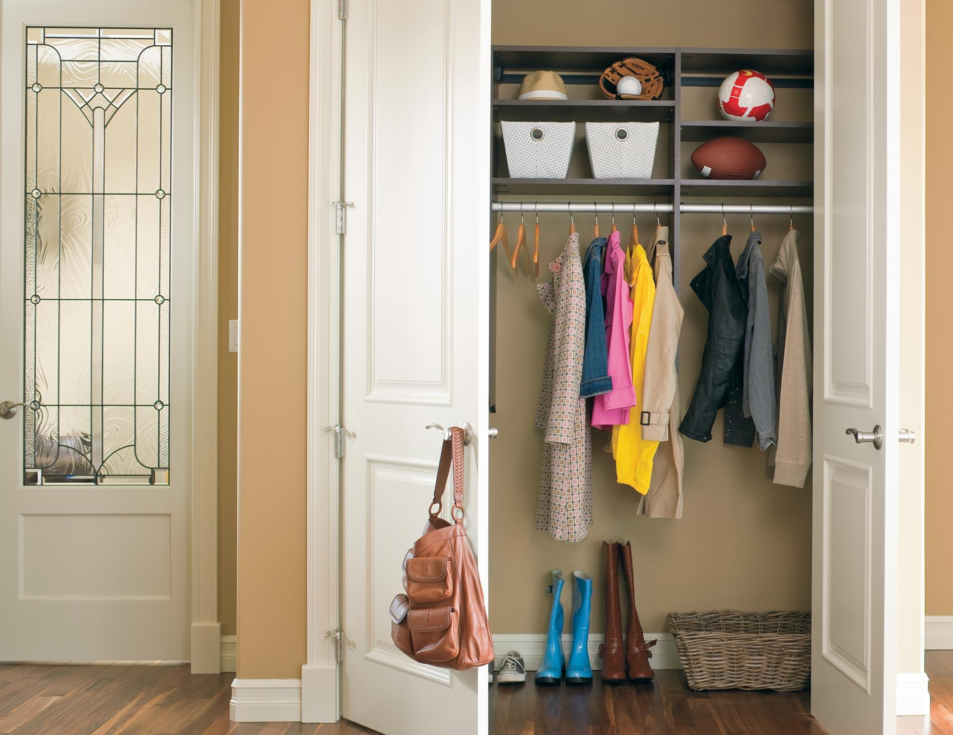 Entryway Cabinet Storage Organization Solutions