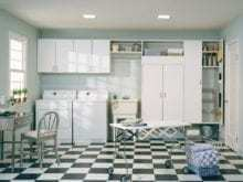 California Closets - Custom Laundry Room