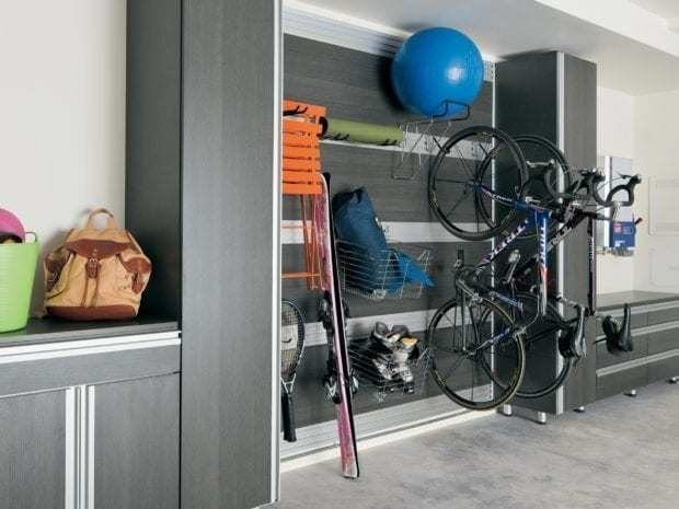Lee Family's garage storage cabinets