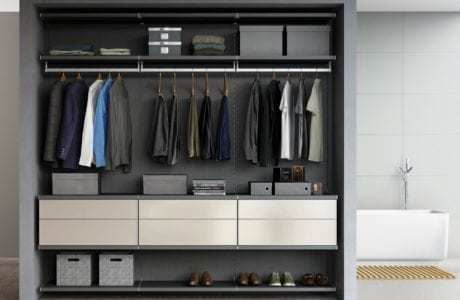 Genial HOW CLOSET ORGANIZERS GIVE YOU STORAGE SIMPLICITY