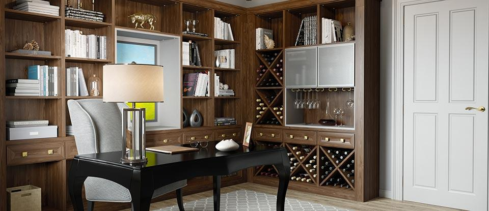 Wine Storage Cabinets & Custom Wine Racks | California Closets