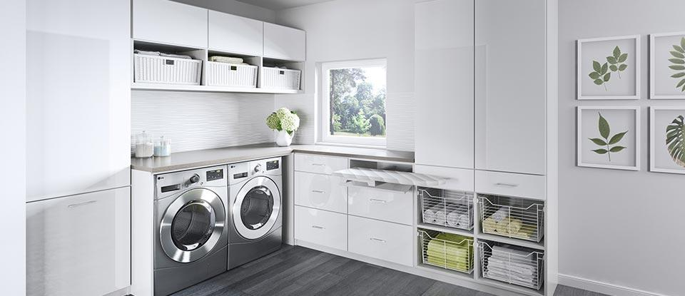 laundry room cabinet ideas Laundry Room Cabinets & Storage Ideas by California Closets laundry room cabinet ideas