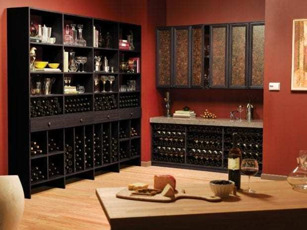California Closets - Custom Wine Storage Solutions