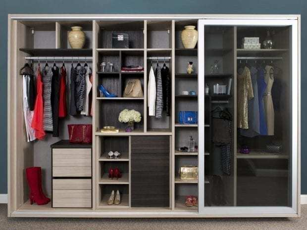 Wardrobe closets custom wardrobe closet systems for your for Armoire salon design