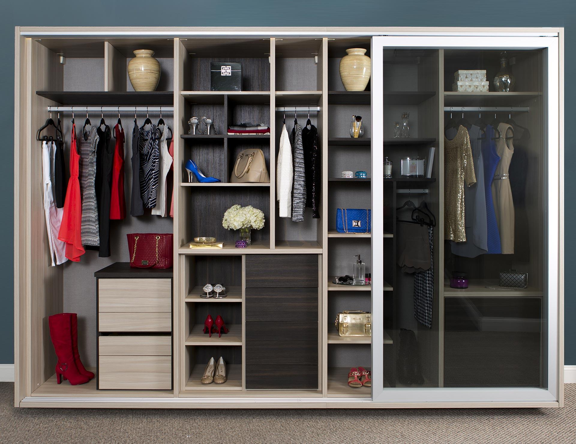 Wardrobe closets custom wardrobe closet systems for your for Decor systems