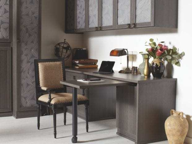 California Closets - Home Office Custom Storage Solutions