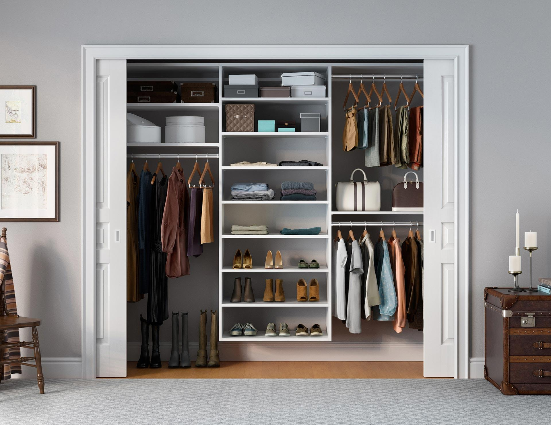 Reach-In Closets - Designs & Ideas by California Closets