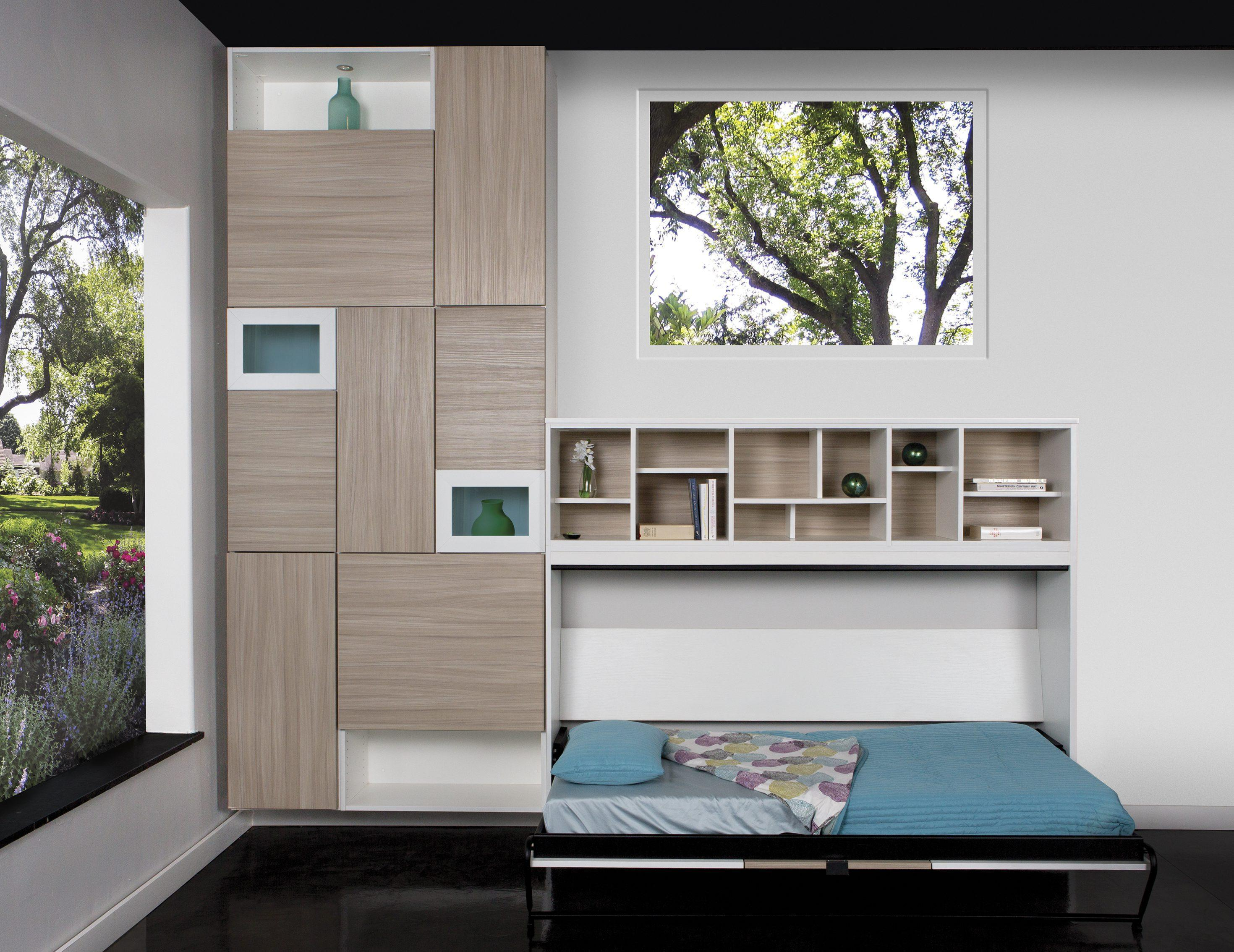 Wall beds california closets topanga living space this wall bed amipublicfo Images