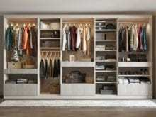 California Closets - Walk Through Wardrobe