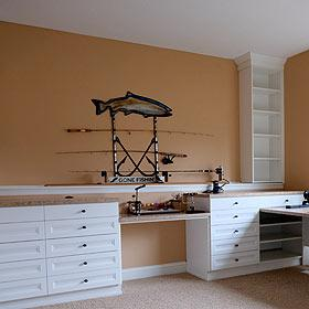 California Closets Minneapolis Creates a Fisherman's Sanctuary