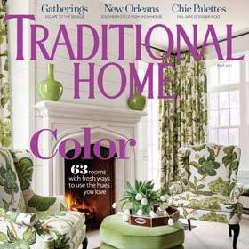 California Closets Featured In Traditional Homes Magazine