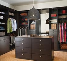 Elegant Featured Custom Closets