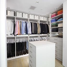 HOW TO EASILY UTILIZE YOUR CLOSET SPACE