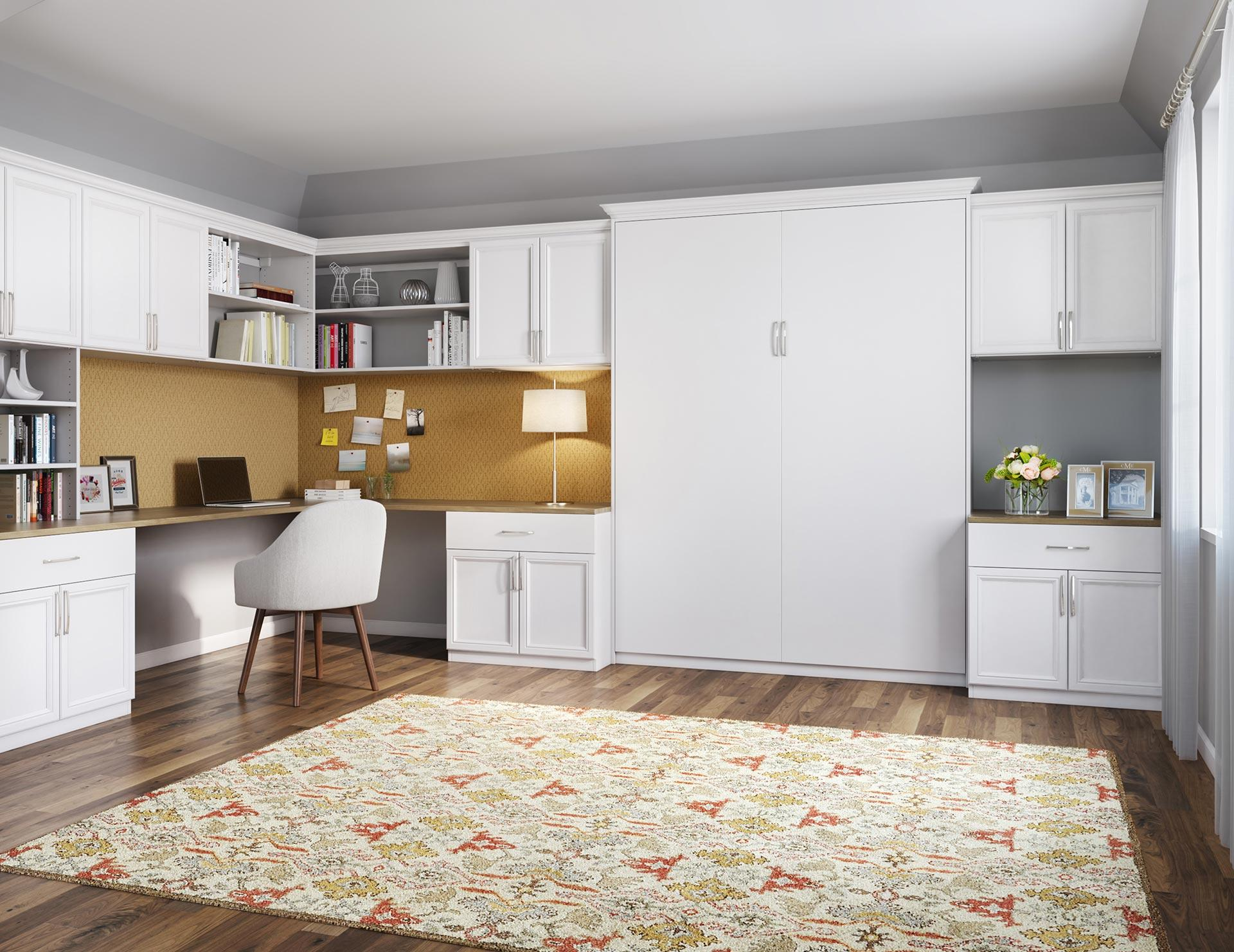 Murphy Twin Bed With Closets