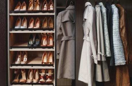 California Closets Closet Pull Out Racks And Accessories