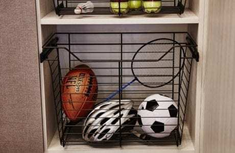 California Closets   Garage Basket Storage