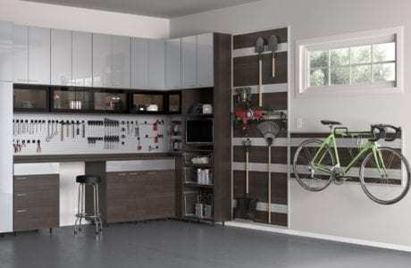 Genial California Closets   Garage With Fusion Track Wall Storage
