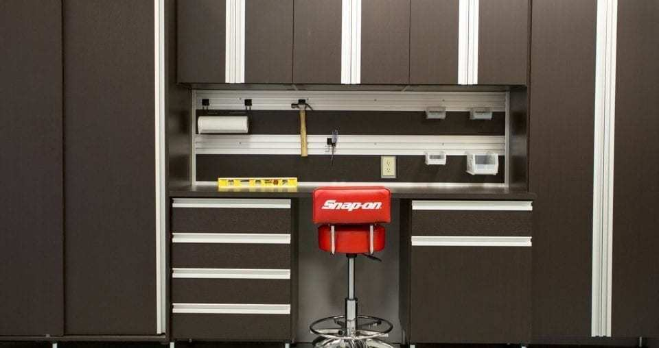 Garage Fusion Track Wall System And Accessories