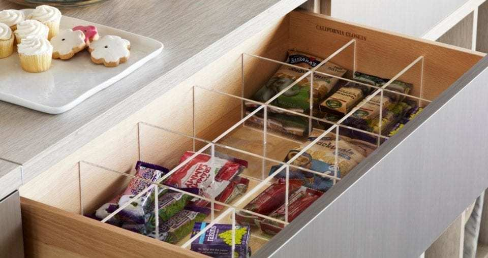 Pantry Drawer Inserts Accessories