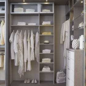 California Closets - Fashionista Walk In Closet Storage System