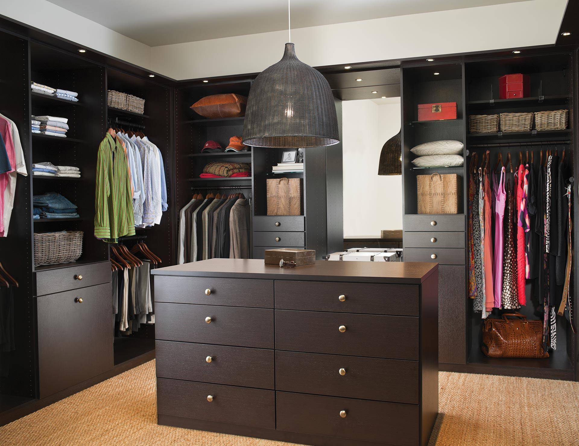 Walk in closets designs ideas by california closets for Bathroom designs 12x8