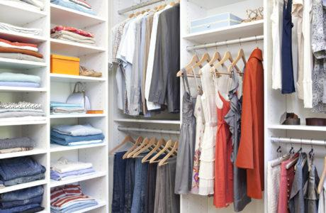CLOSET ORGANIZERS: THE ANSWER TO SMALL LIVING SPACES