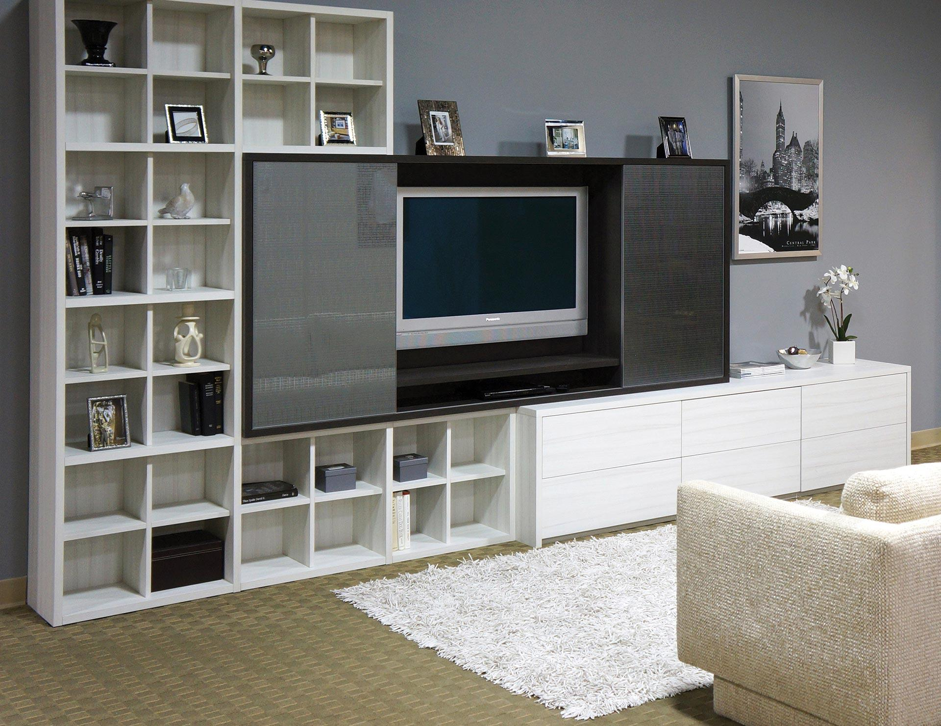 Home Entertainment System With Storage
