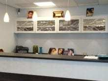 California Closets - Custom Reception Desk