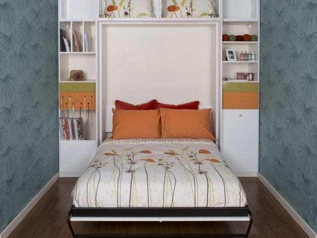 Murphy beds wall bed designs and ideas by california closets for California closets craft room