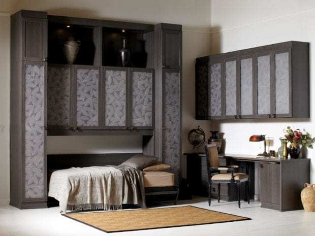 murphy beds wall bed designs ideas by california closets. Black Bedroom Furniture Sets. Home Design Ideas