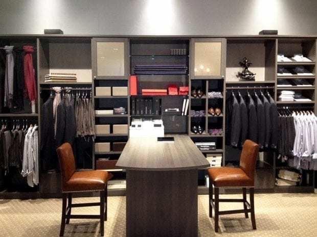 California Closets - Custom Commercial Storage System