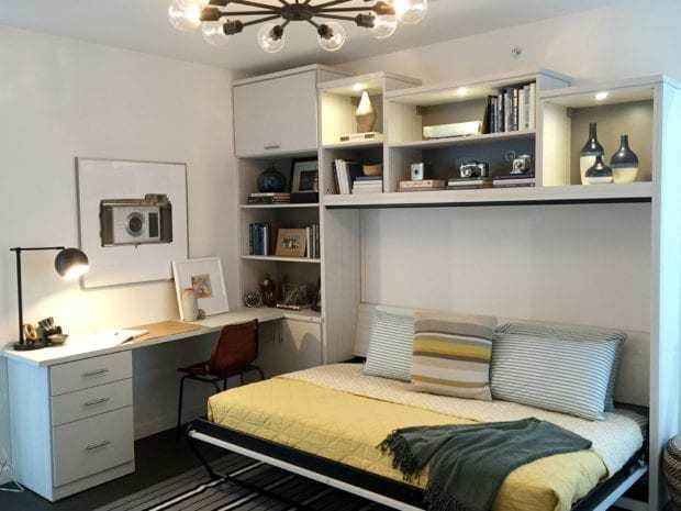 California Closets- Wall Bed Office Guestroom